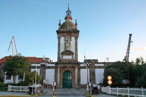 Traballo visita guiada Ferrol da Ilustración