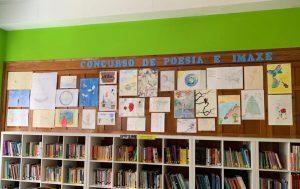 Exposición na biblioteca do centro de 4º da ESO @ Colegio Cristo Rey ferrol