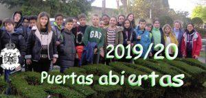 Jornadas de Puertas Abiertas 19/20 @ Colegio Cristo Rey ferrol