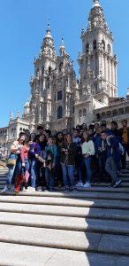 Visita de  2º de ESO a Santiago de Compostela
